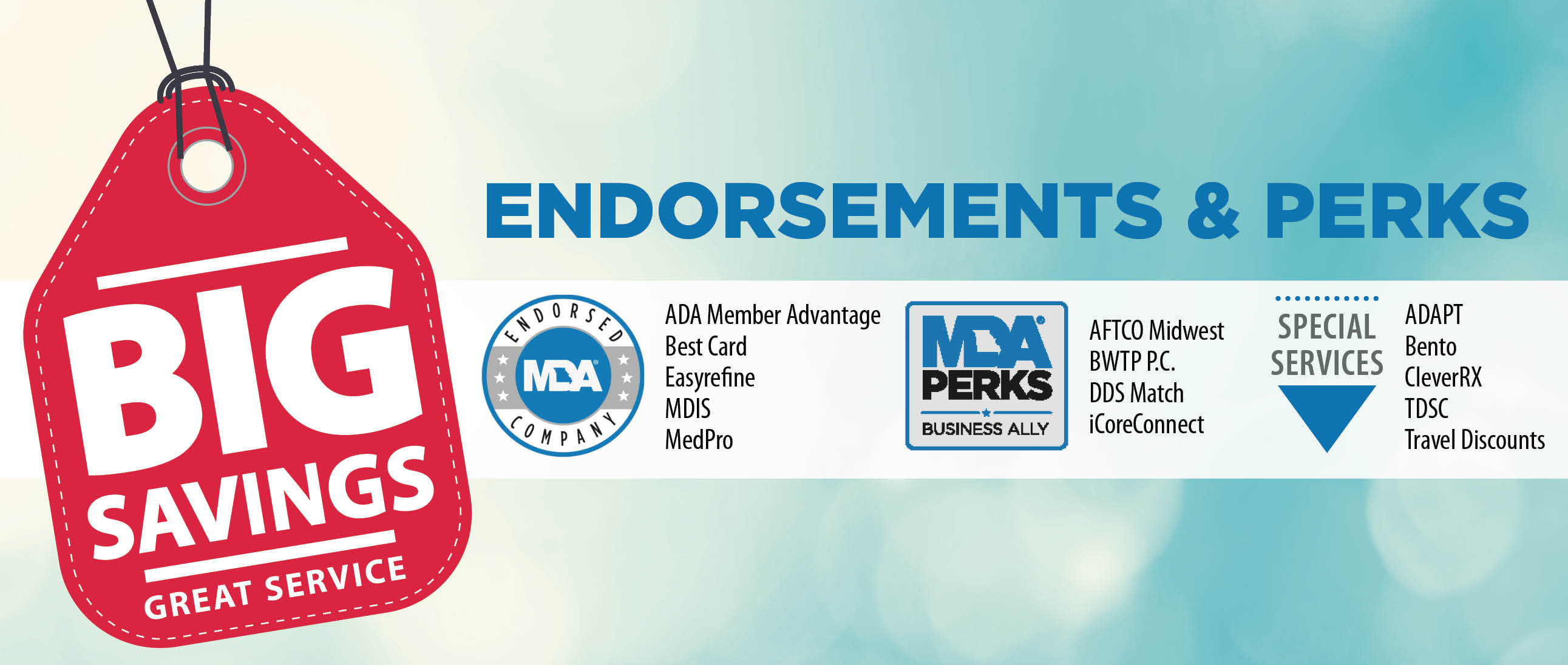 Perks and Endorsements